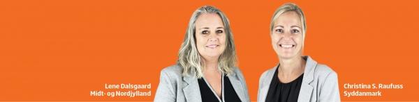 Nye ansigter i KRs salgsteam: Velkommen til Lene og Christina