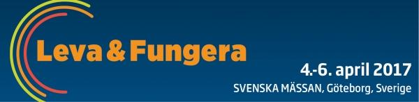 Kom og besøg os på Leva & Fungera i Sverige den 4.-6. april 2017